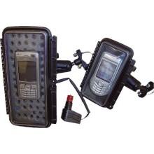 Šildomas mobilaus telefono / GPS dėklas